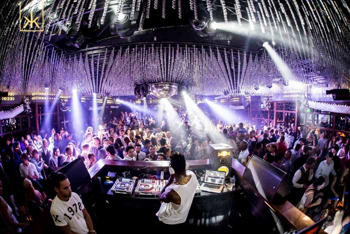 Ling Ling Club in Hakkasan Nightclub Las Vegas
