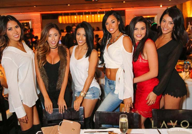 Photo of Ladies at Lavo Brunch in Las Vegas