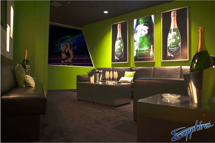 A photo of a skybox inside sapphire