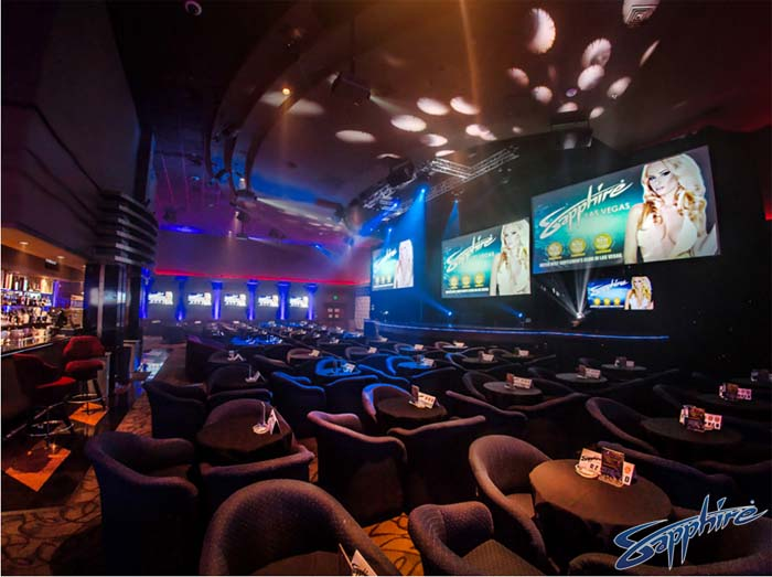 Best Place To Watch Sporting Events At Sapphire Is In The Show Room