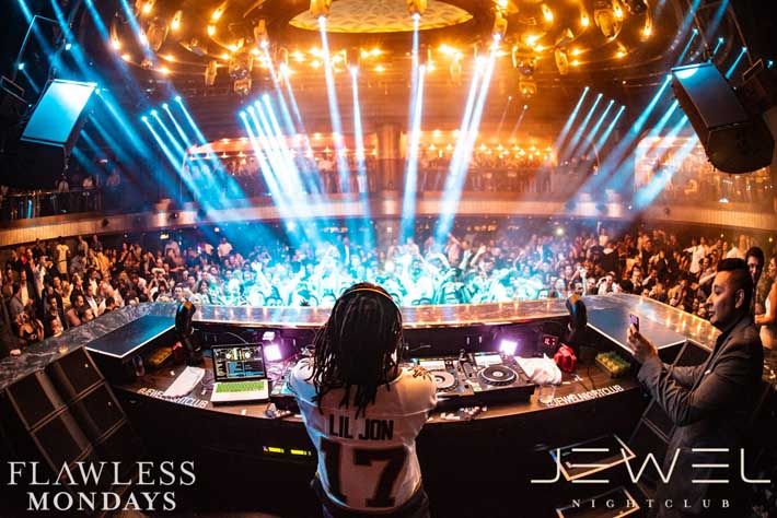 Lil Jon performs to a sold out crowd at Jewel on Industry Night Las Vegas