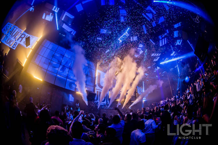 A photo of the dance floor at Light Nightclub