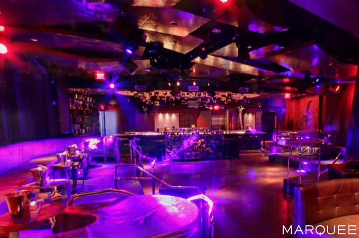 A photo of Marquee's Hip Hop Room