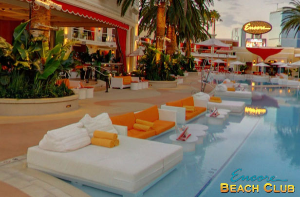 Water Couches A Photo Of At Encore Beach Club