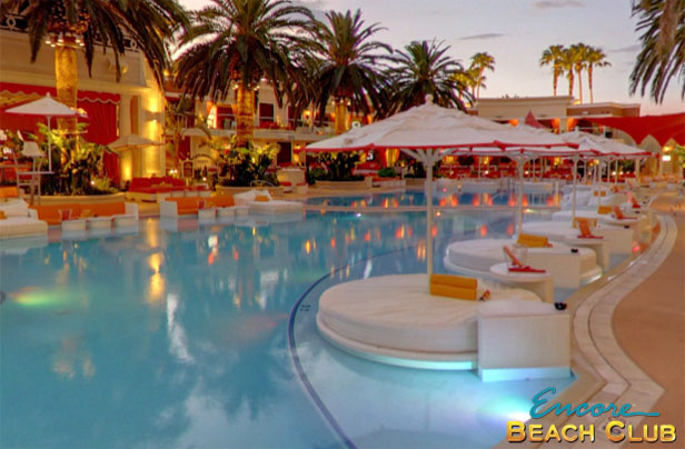 Photo Of Encore Beach Club S Lilly Pads