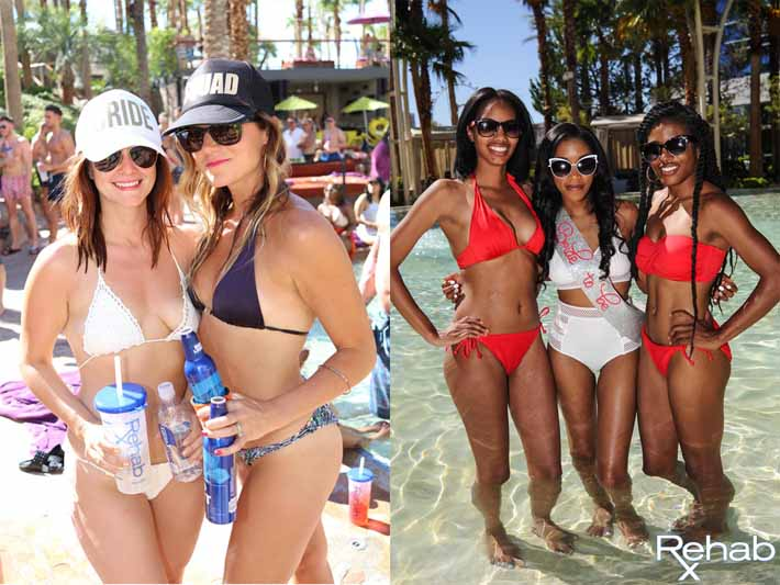 Bachelorette Party Packages Available At Rehab Pool Party