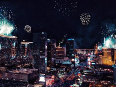 The view from las vegas clubs new years eve