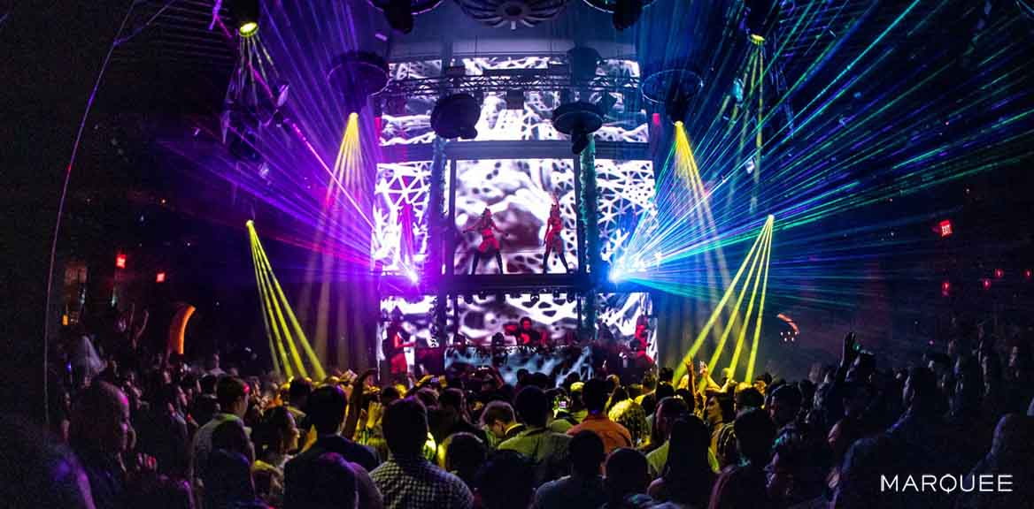Our guides to the Las Vegas nightclubs